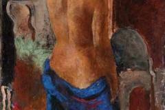 Акт с леђа, 1924, уље на платну, 65x46цм