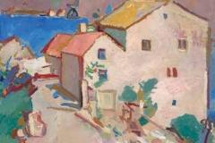 Будва, 1956, уље на платну, 91x71цм