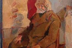 Трговац, 1956, уље на платну, 195x130цм