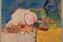 Зелено и жуто, 1956, уље на платну, 75x105цм